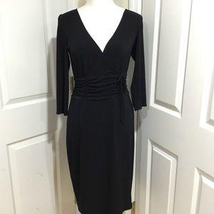 Laundry by Shelli Segal Black Dress Size 10